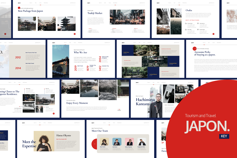 Japon Tourism Presentation Keynote example image 1