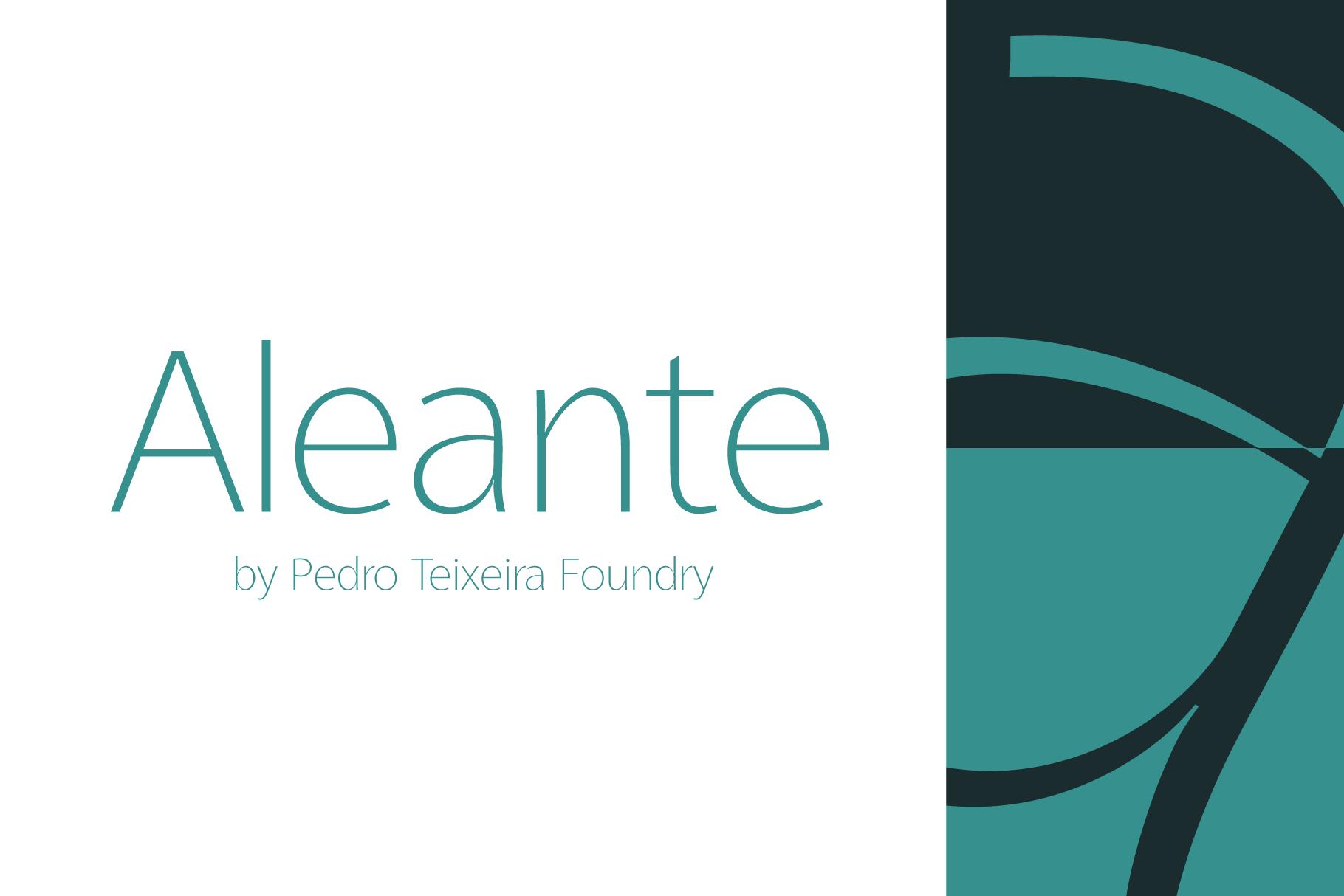 Aleante Sans Family example image 1