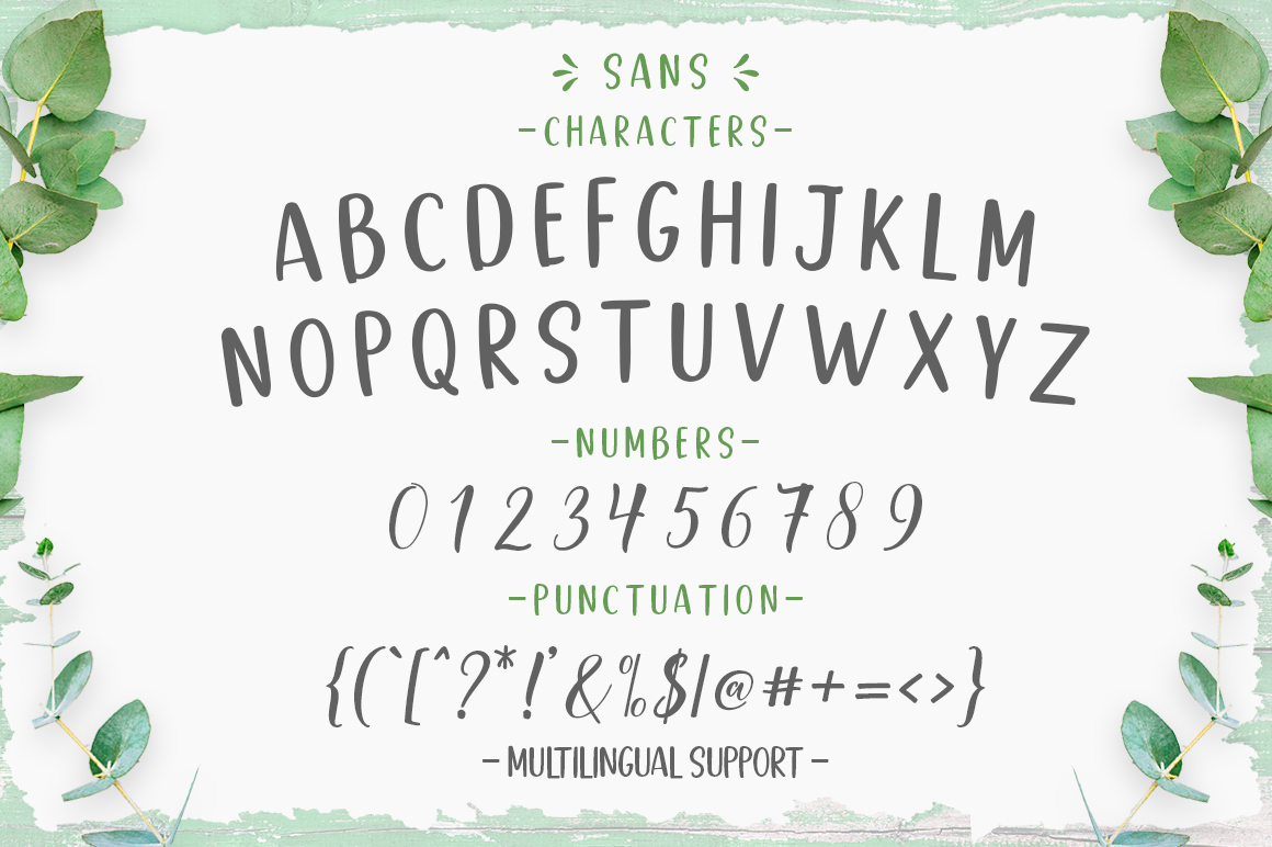 Good Selection Font Duo & Extras example image 9