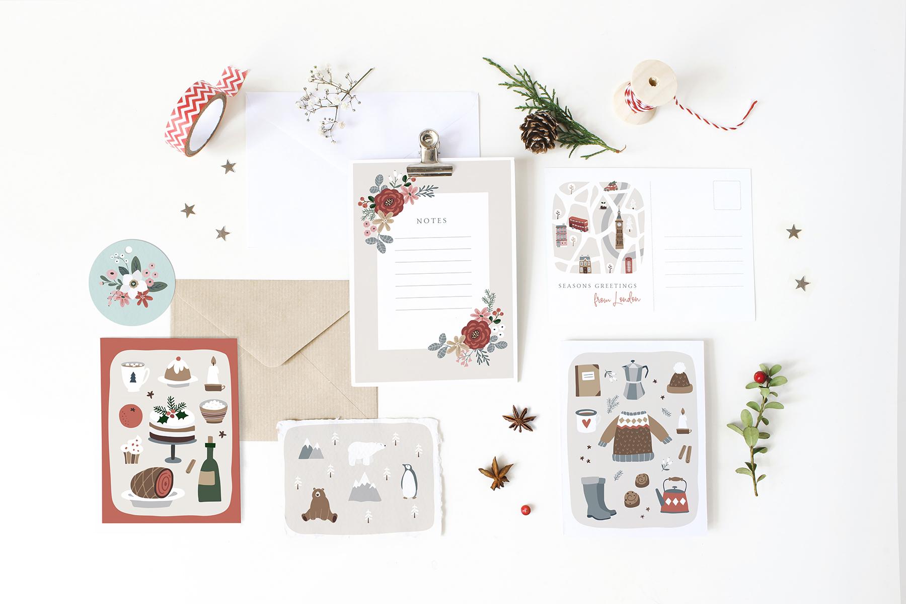 Charming Christmas card & map creator example image 10