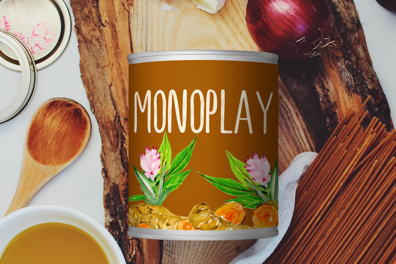 Monoplay. Minimalist Sans Serif font example image 7