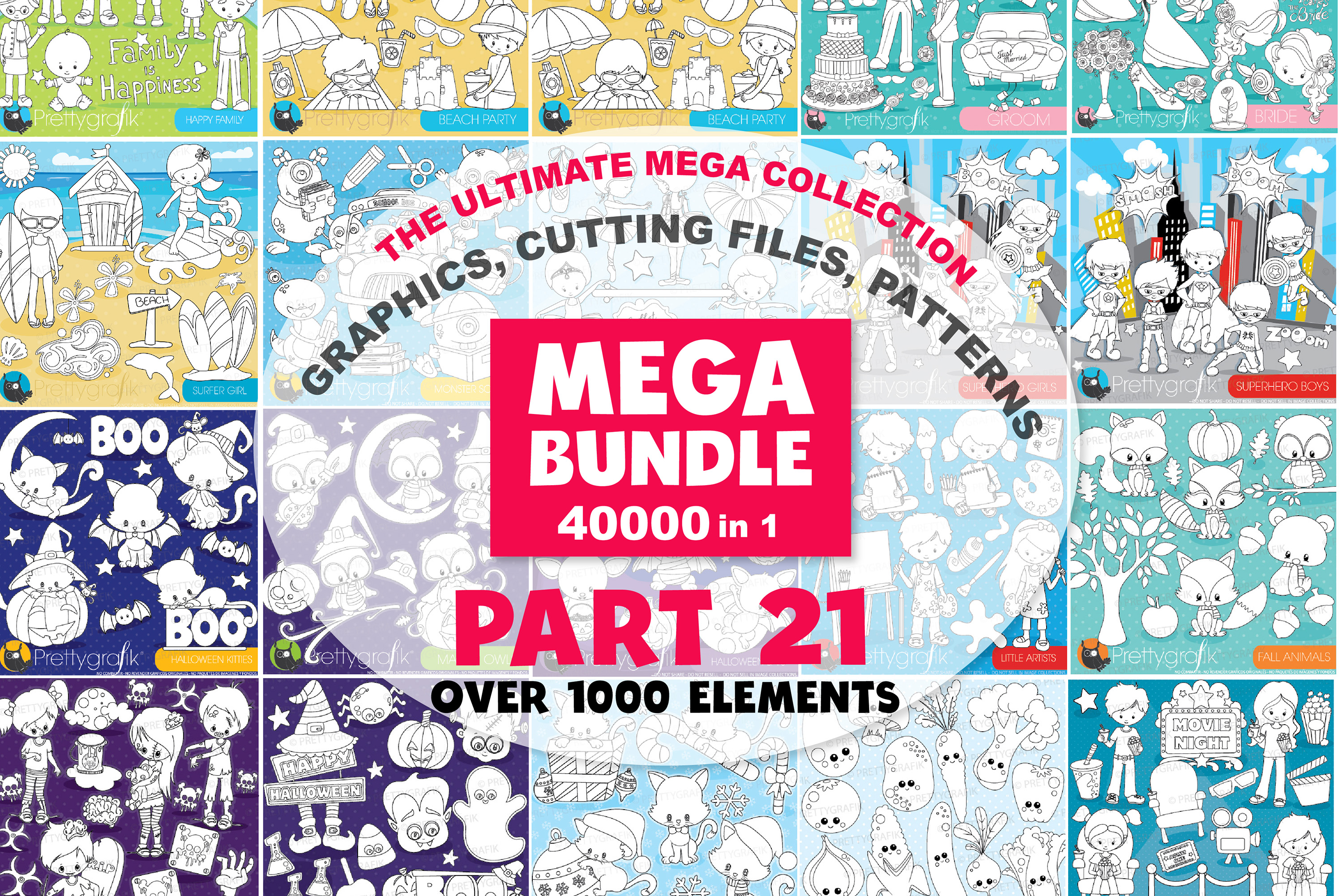 MEGA BUNDLE PART21 - 40000 in 1 Full Collection example image 1