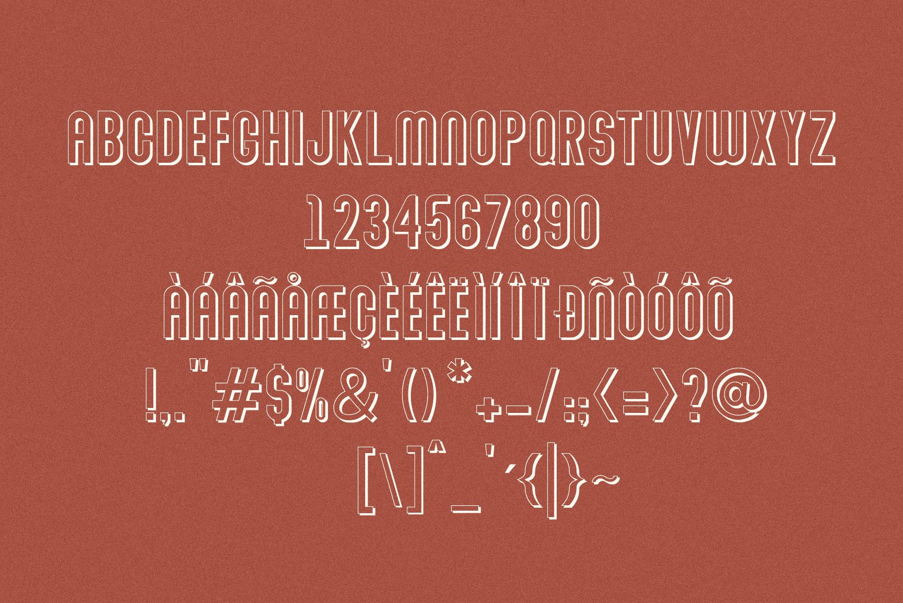 Abraham Font Family 7 Style Fonts example image 12