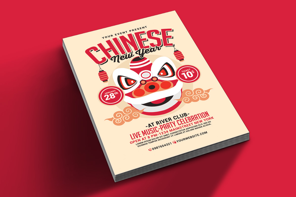 Chinese New Year Flyer example image 3