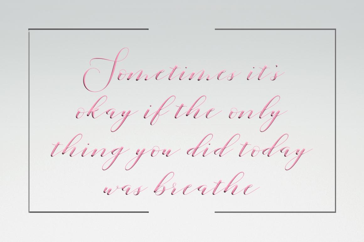 Lucinda Script example image 2