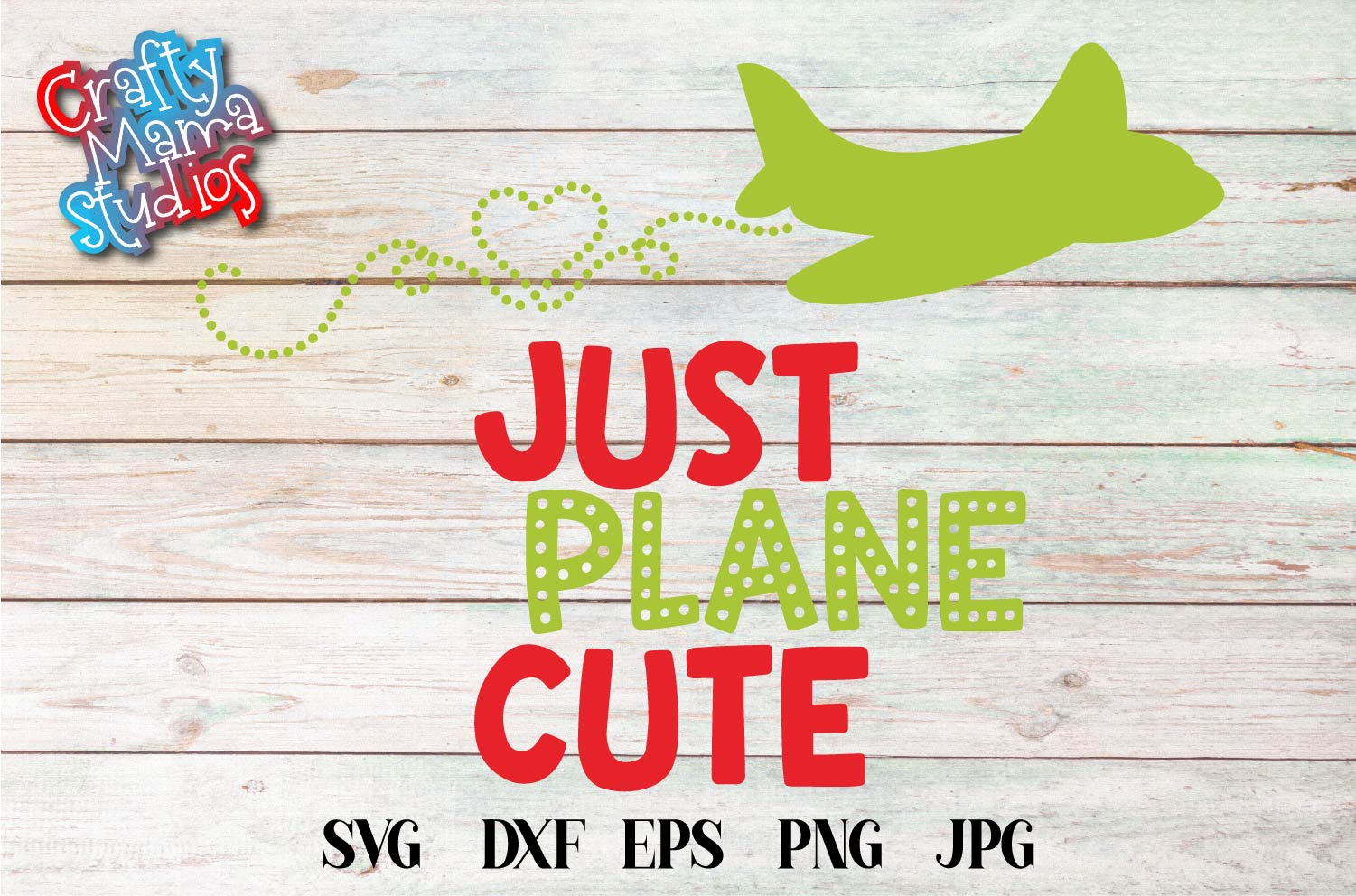 Valentine's Day SVG Just Plane Cute, Airplane Sublimation example image 2