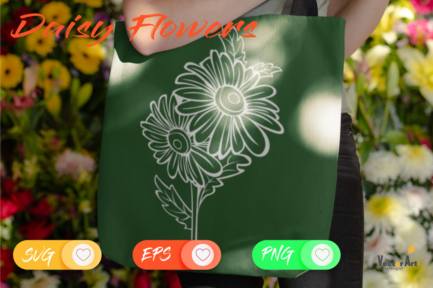 Spring Flower - Bundle - Cut Files with 2 Layers example image 9