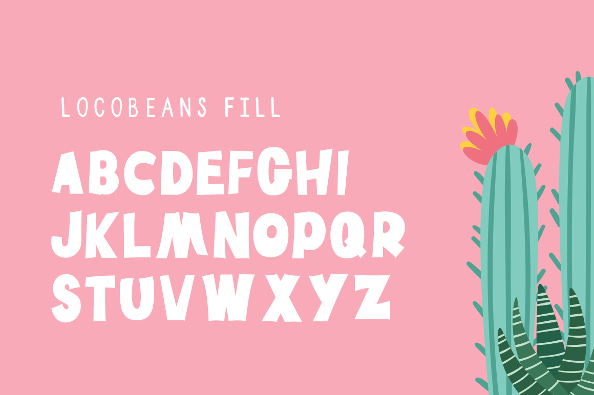 Locobeans Font Duo example image 4