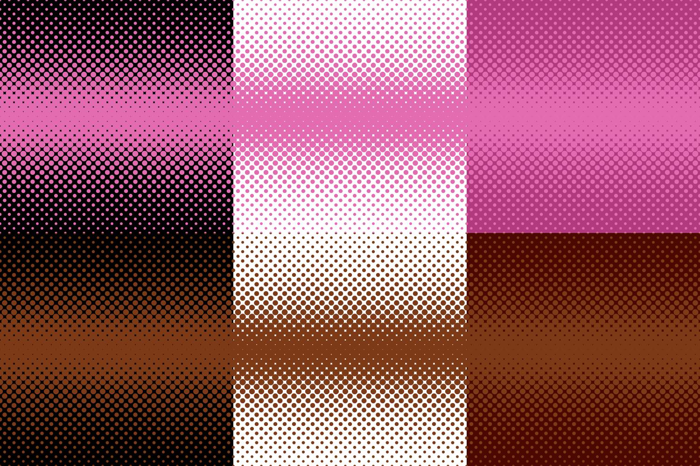30 Halftone Dot Backgrounds (AI, EPS, JPG 5000x5000) example image 6