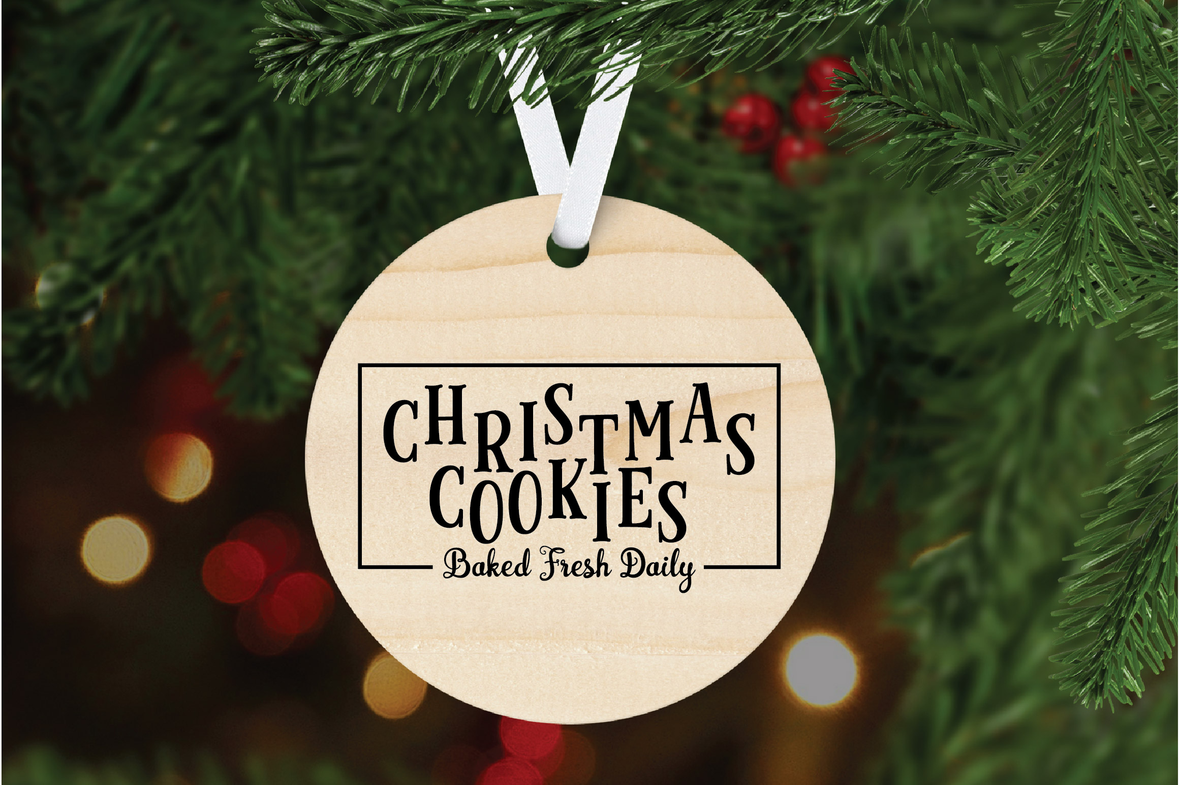Christmas SVG Cut File - Christmas Cookies SVG DXF PNG EPS example image 6