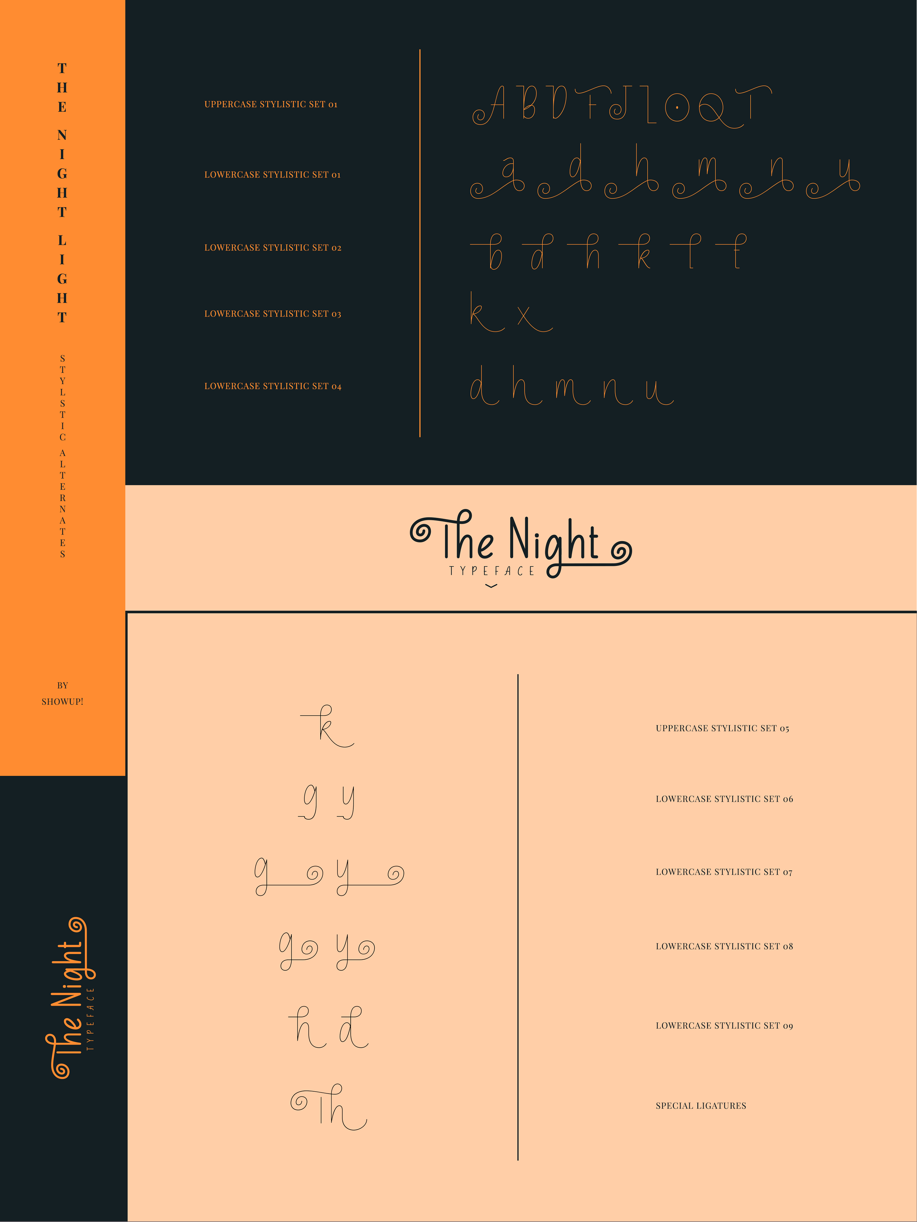 The Night Typeface example image 12