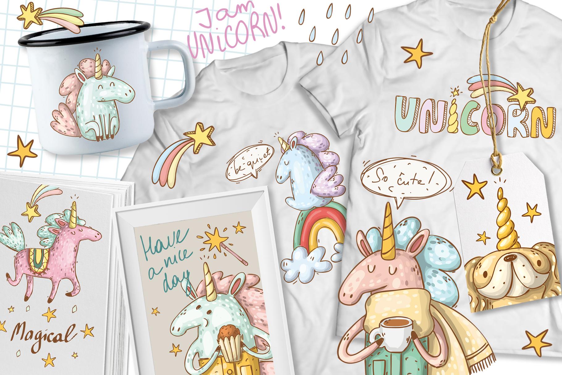 Magical unicorns set example image 7