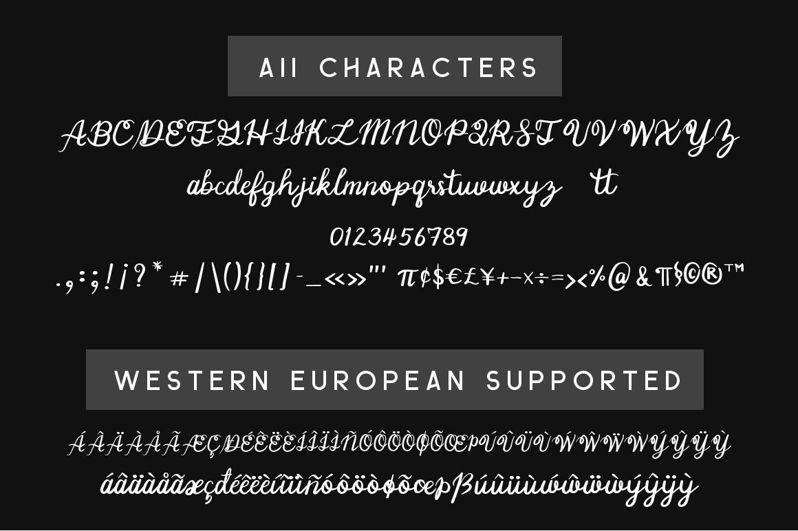 Manee Handwritten Typeface example image 5