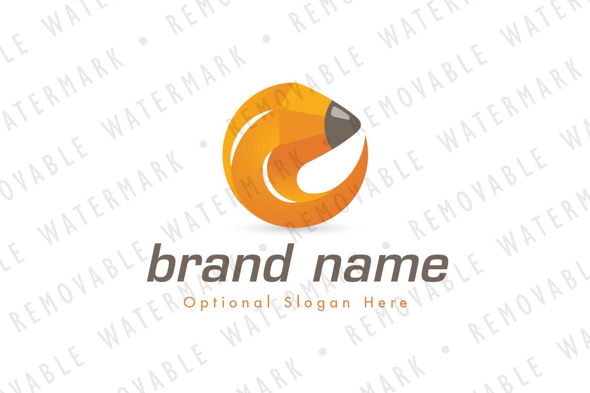 Pencil Circle Logo example image 1