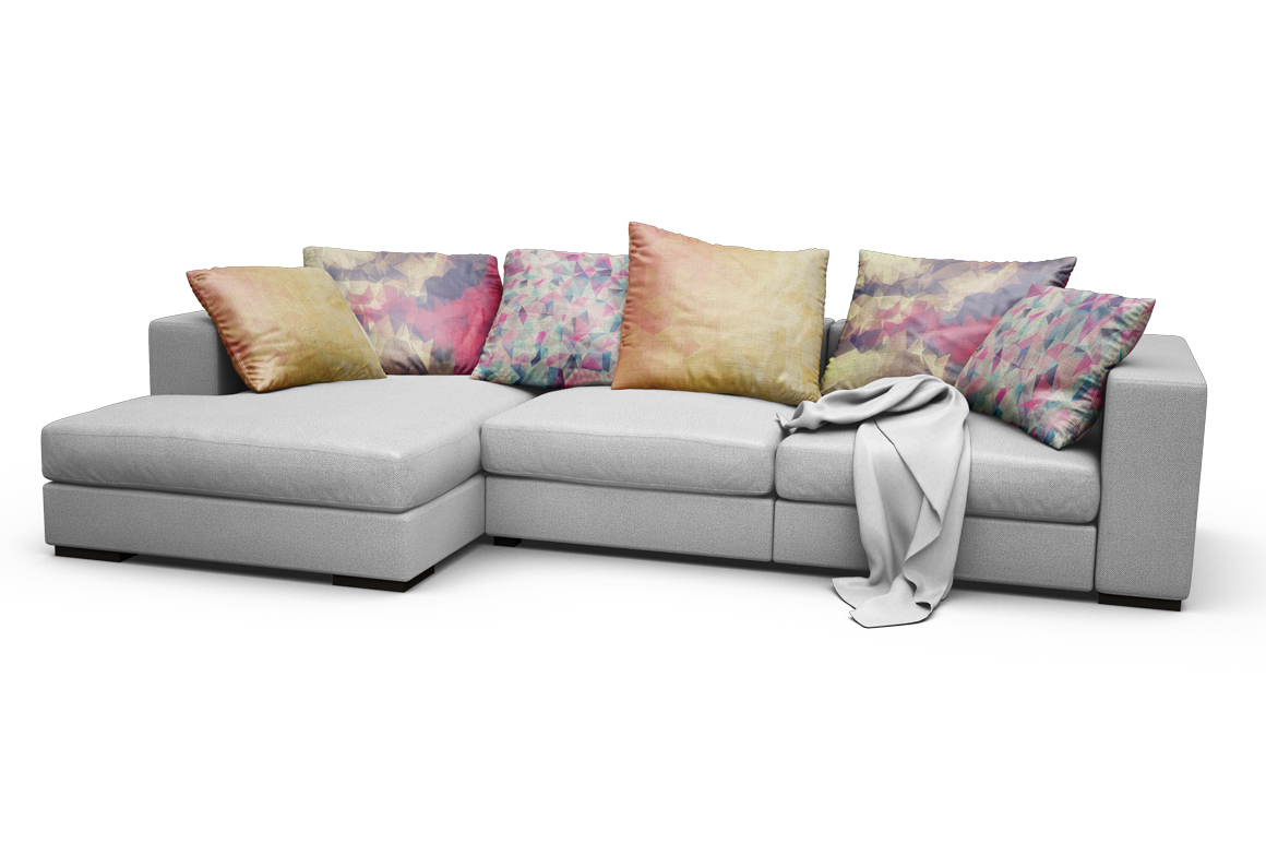 Sofa-Pillows Mockup example image 12