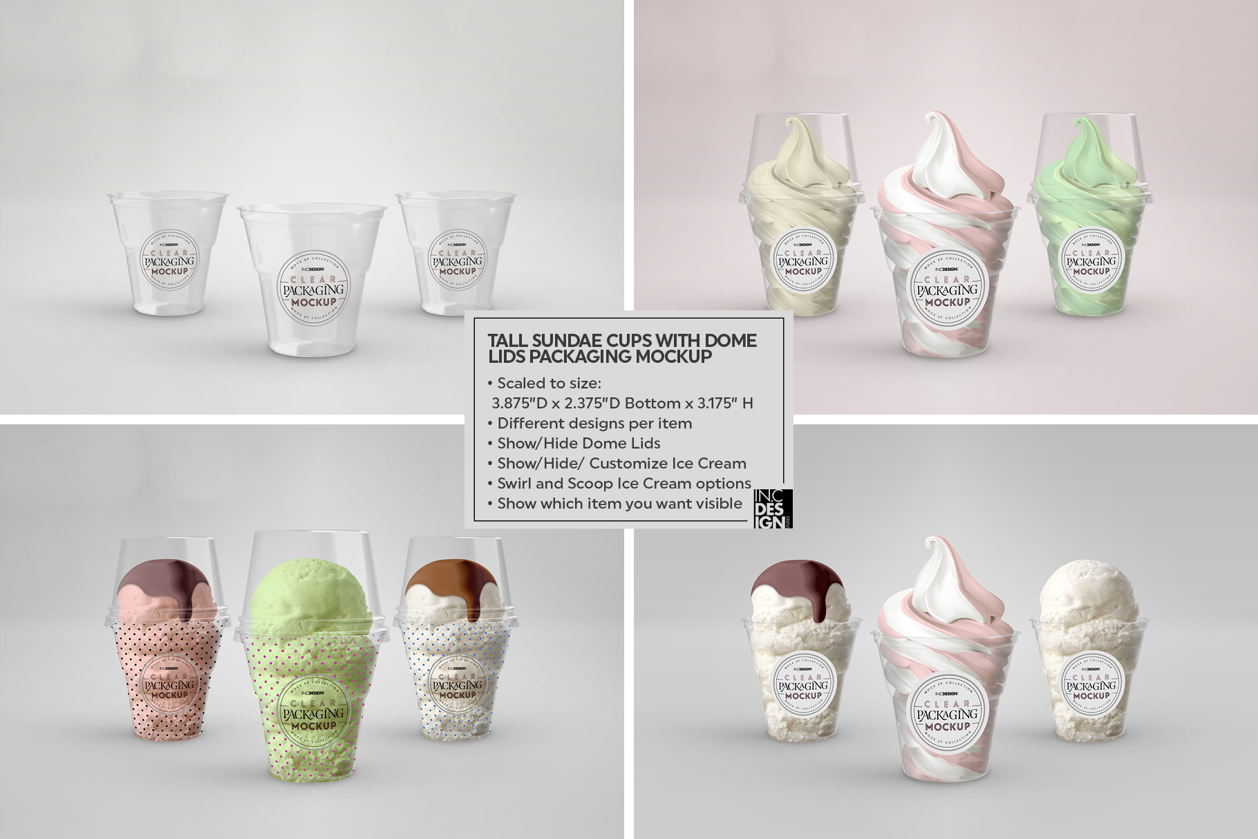 VOL.7 Clear Packaging Mockup Collection example image 9