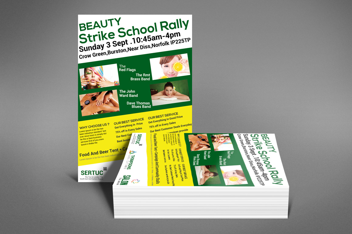 Beauty Flyer example image 5