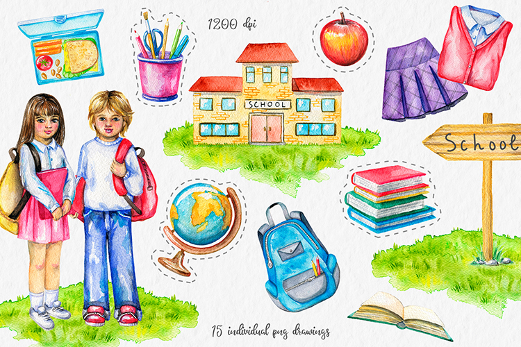 School time ! example image 2