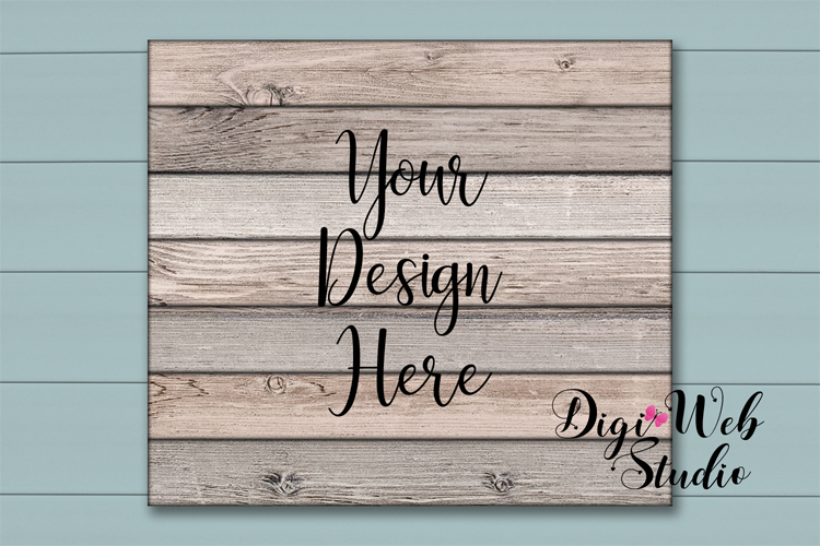 Wood Signs Mockup Bundle - 9 Piece Farmhouse Wood Signs 2 example image 8