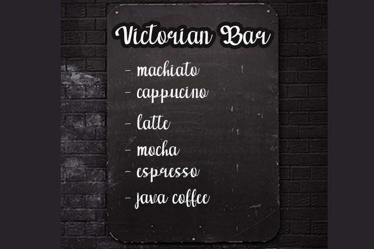 victoria font example image 4