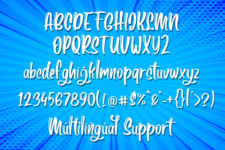 Boga-bogi Layered Font example image 4