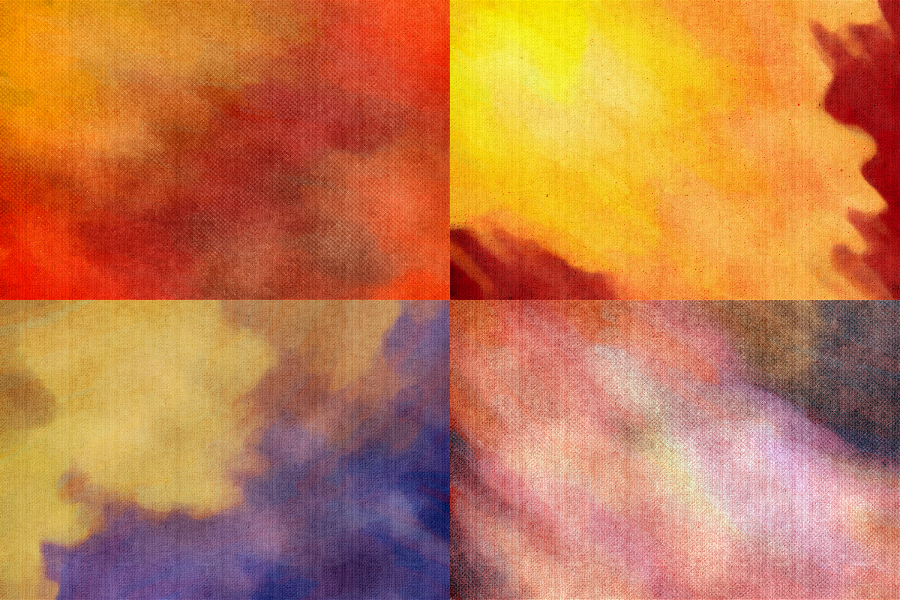 Abstract - Watercolor Textures Pack example image 4
