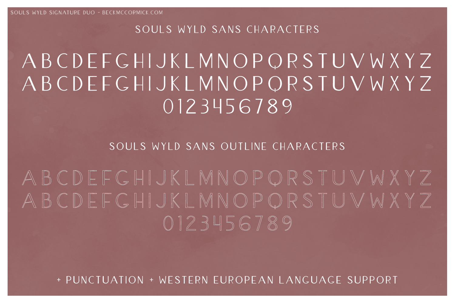 Souls Wyld Signature Script and Sans Font Trio example image 15