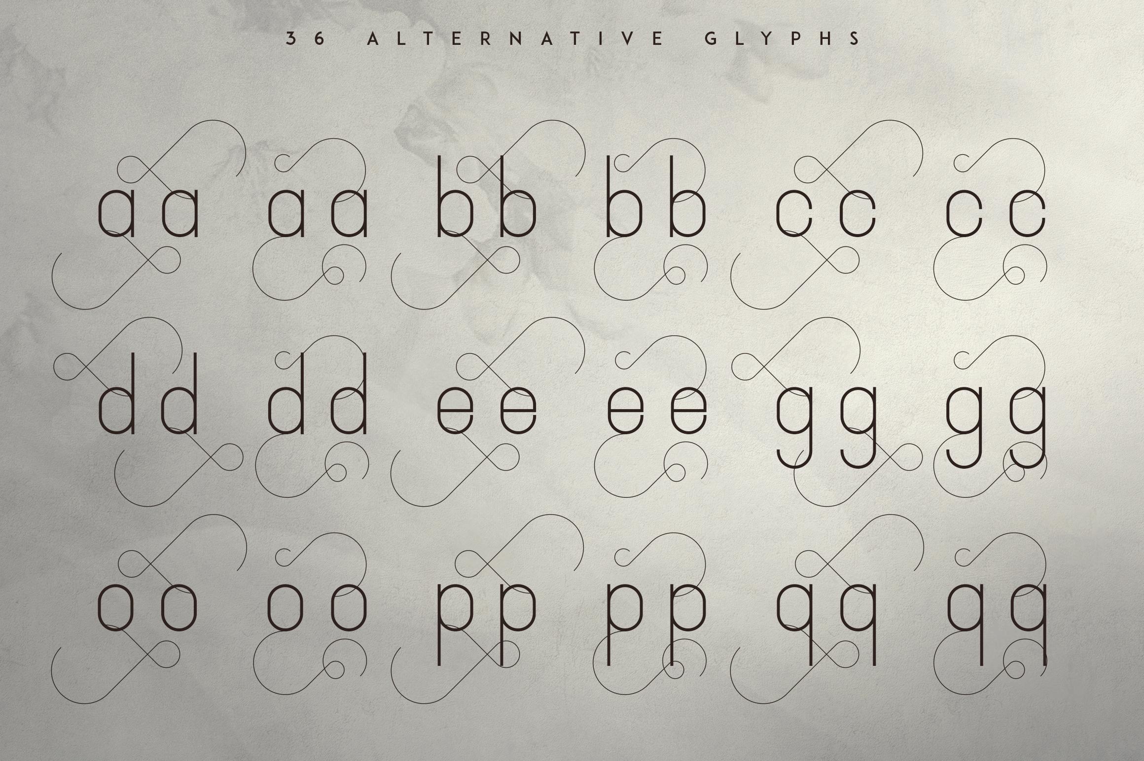 JaneDoe Sans Serif font example image 6