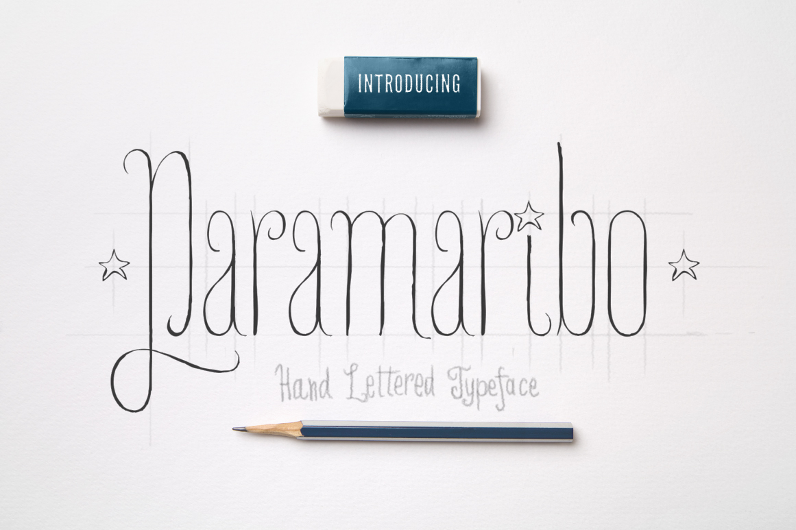 Paramaribo Font family example image 1
