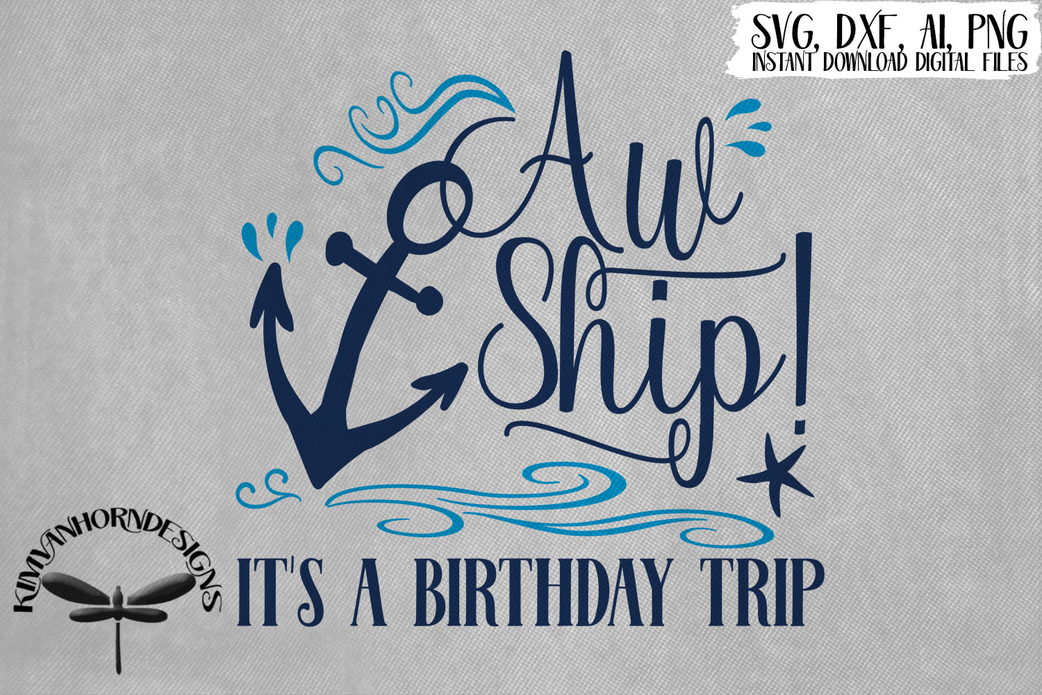 Aw Ship! It's A Birthday Trip example image 1