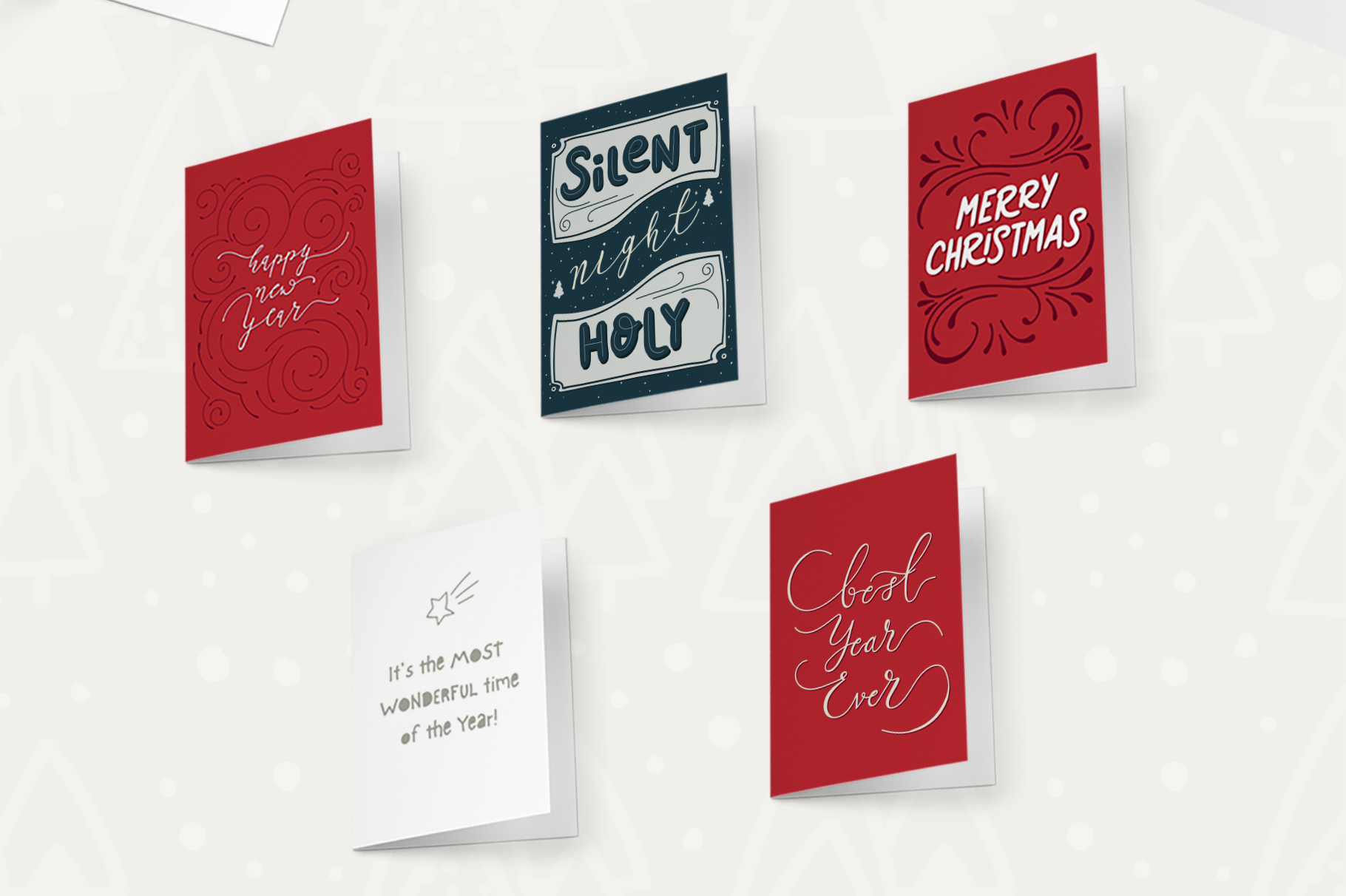 Sweet Christmas Cards & Posters example image 2