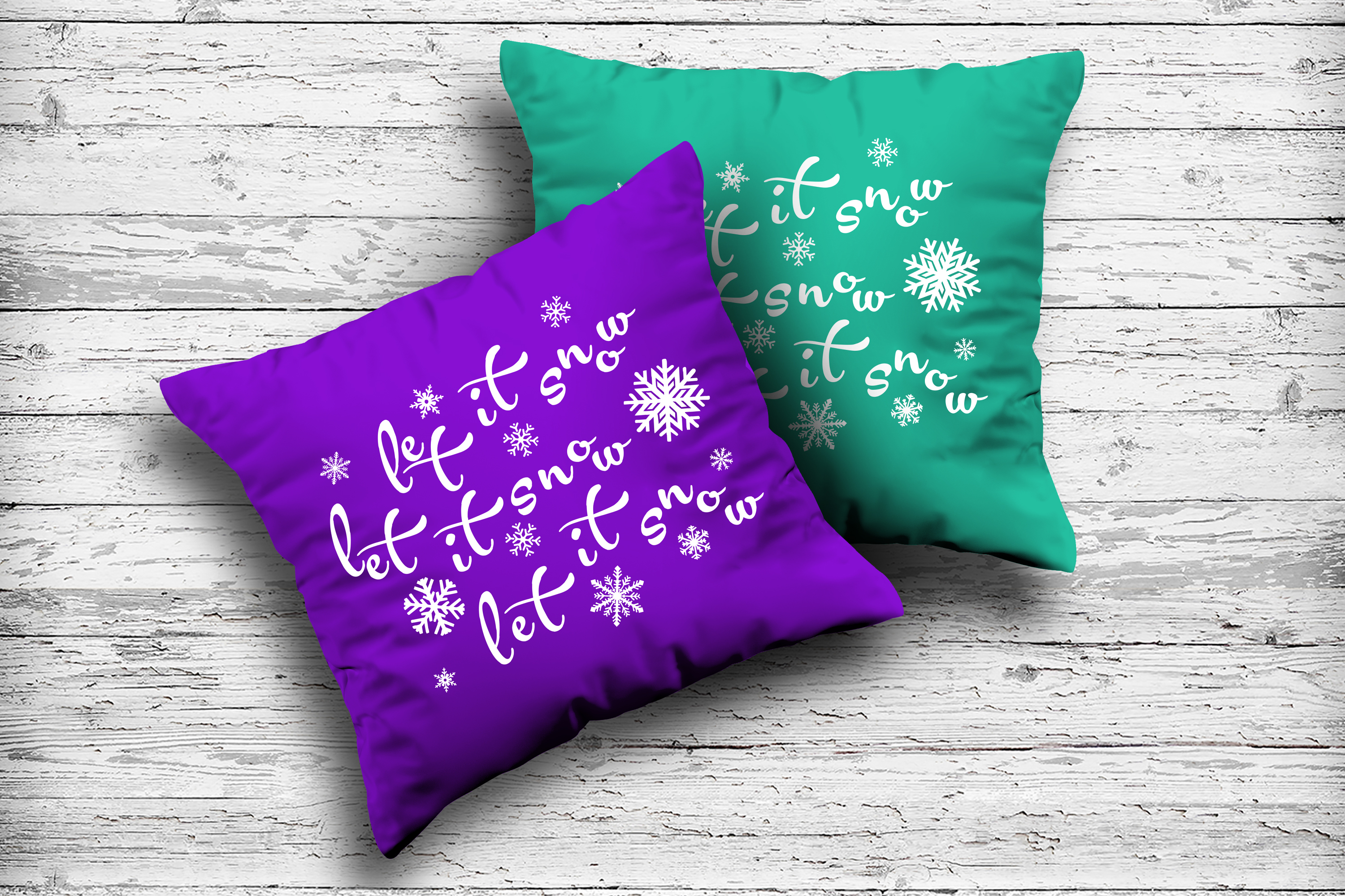 Christmas svg Let it snow svg Winter svg Snowflake svg example image 6