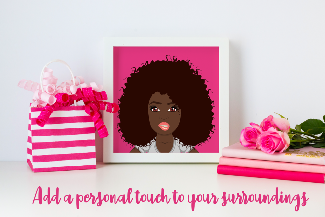 Personalised Character Creator | Avatar | Female Clip Art example image 7
