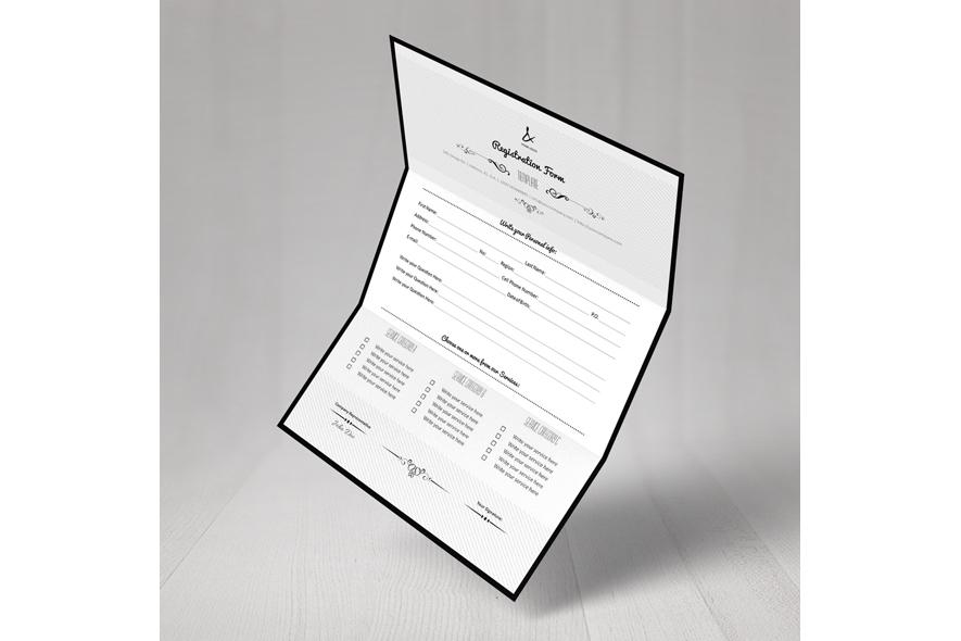 Registration Form Template v7 example image 4