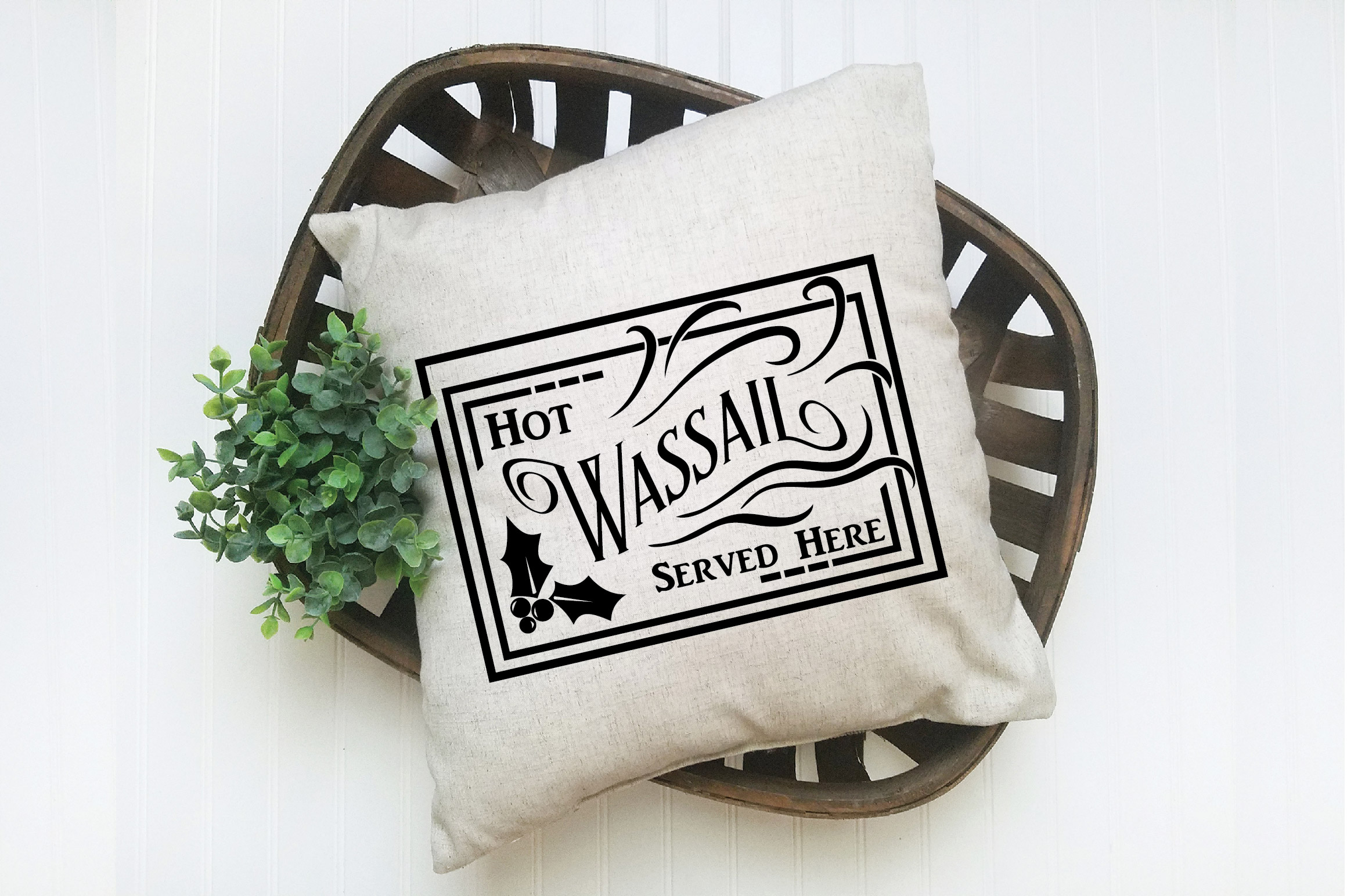 Christmas SVG Cut File - Hot Wassail SVG DXF PNG EPS JPG example image 7
