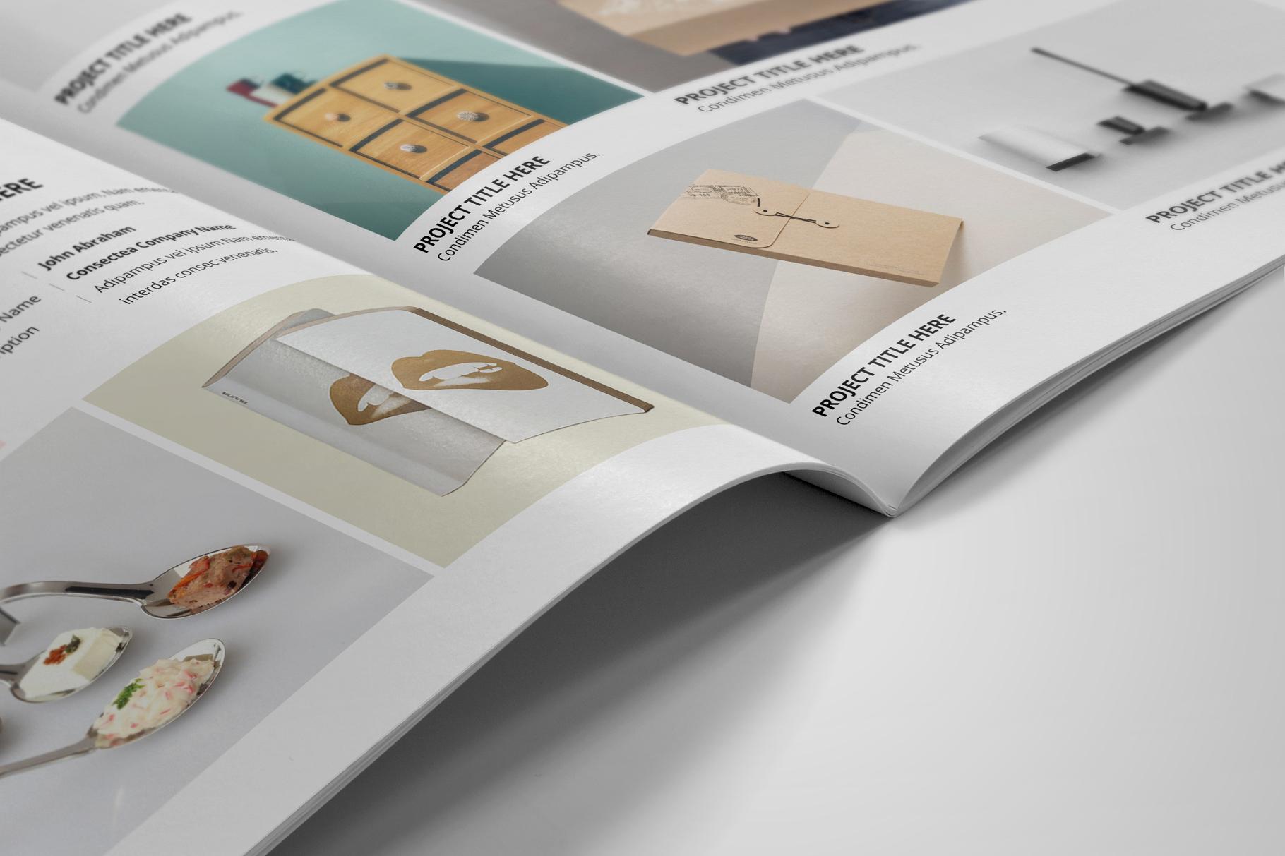Portfolio Bifold Brochure Design v1 example image 5