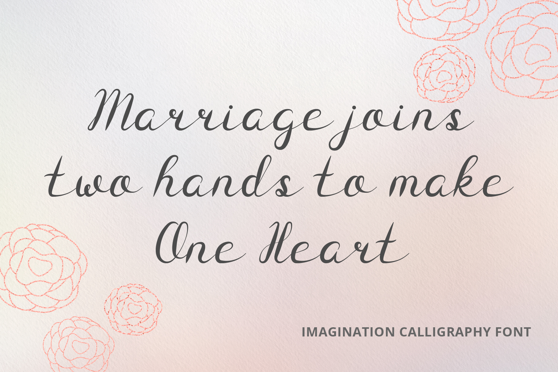 Imagination Calligraphy Font example image 4