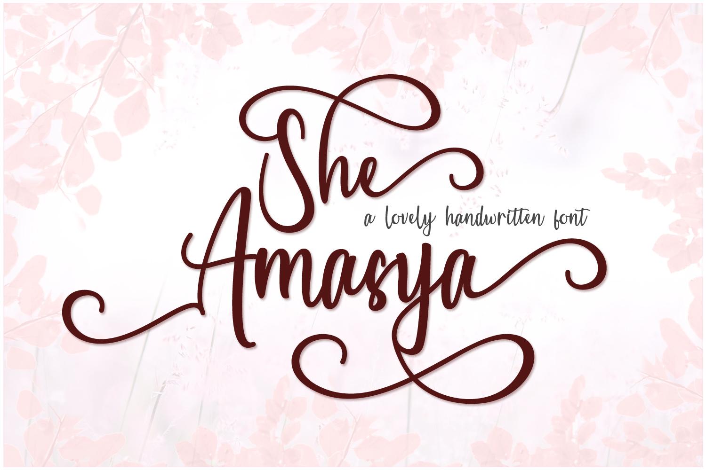 She Amasya example image 1