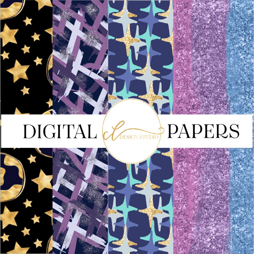 Global Takeover Digital Papers example image 1