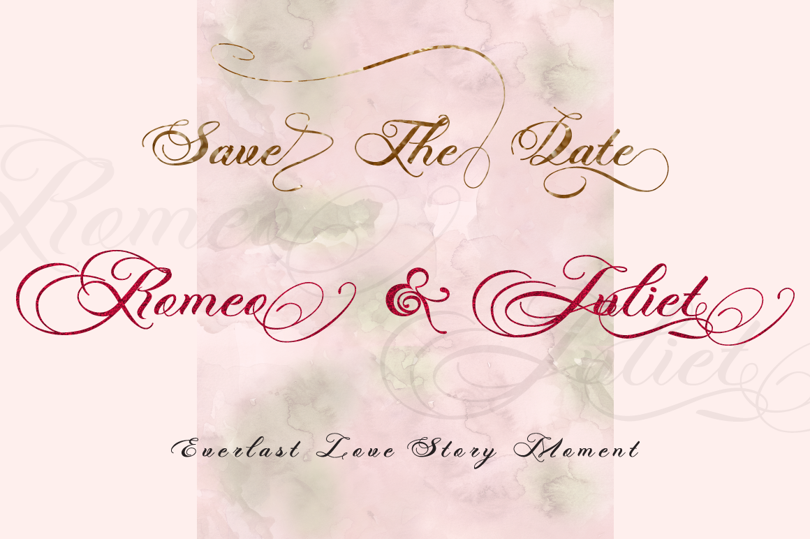 Photograph - Script Wedding Font example image 7