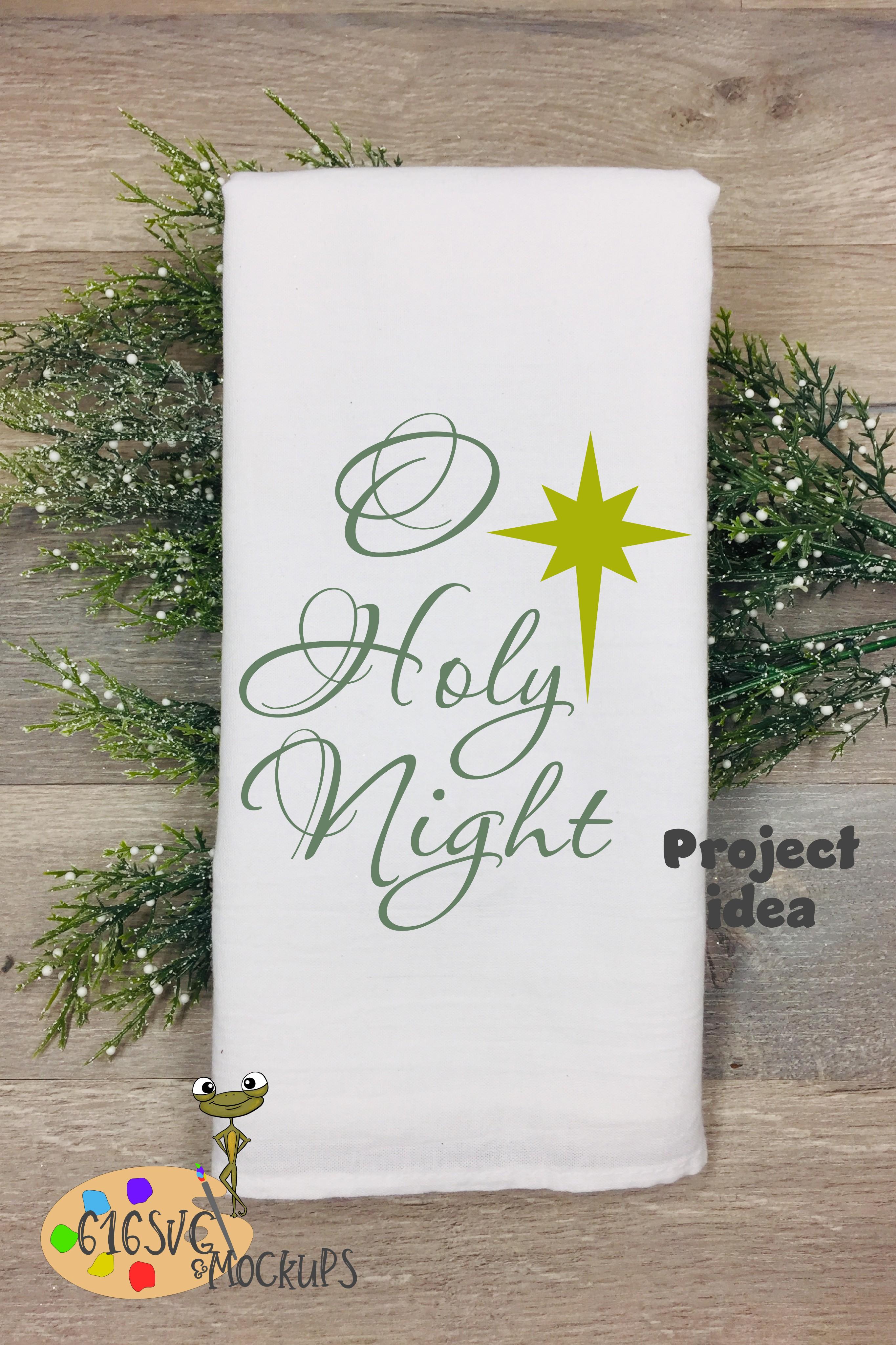 O Holy Night SVG example image 5