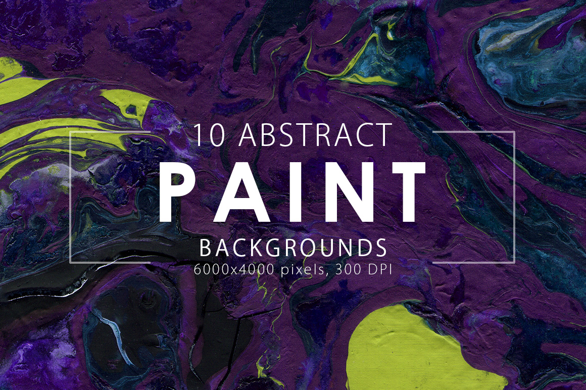 Abstract Paint Backgrounds Vol.1 example image 2