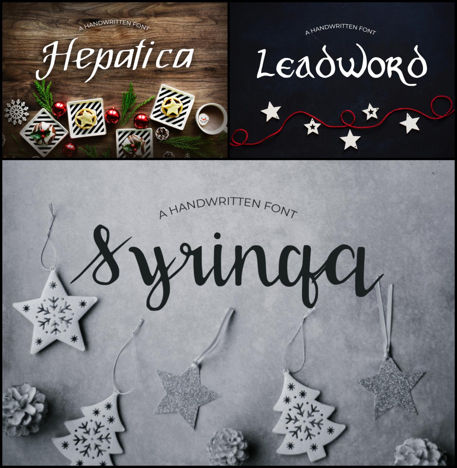 15 Creative Handmade Fonts Bundle example image 2