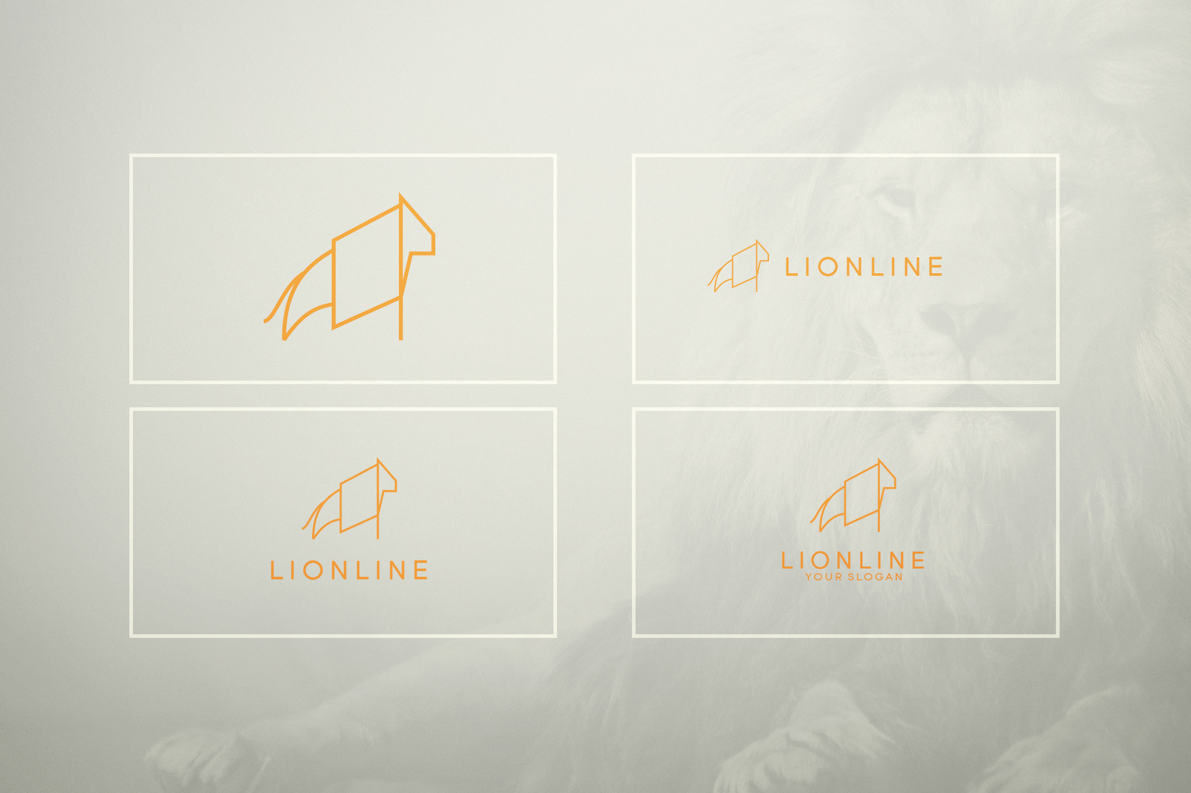 17 Geometric Animal Icons and Logos example image 15