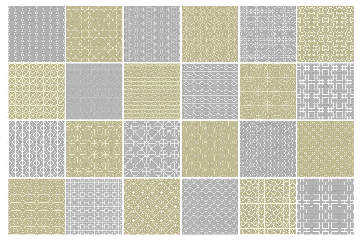 Geometric seamless symmetry patterns example image 13