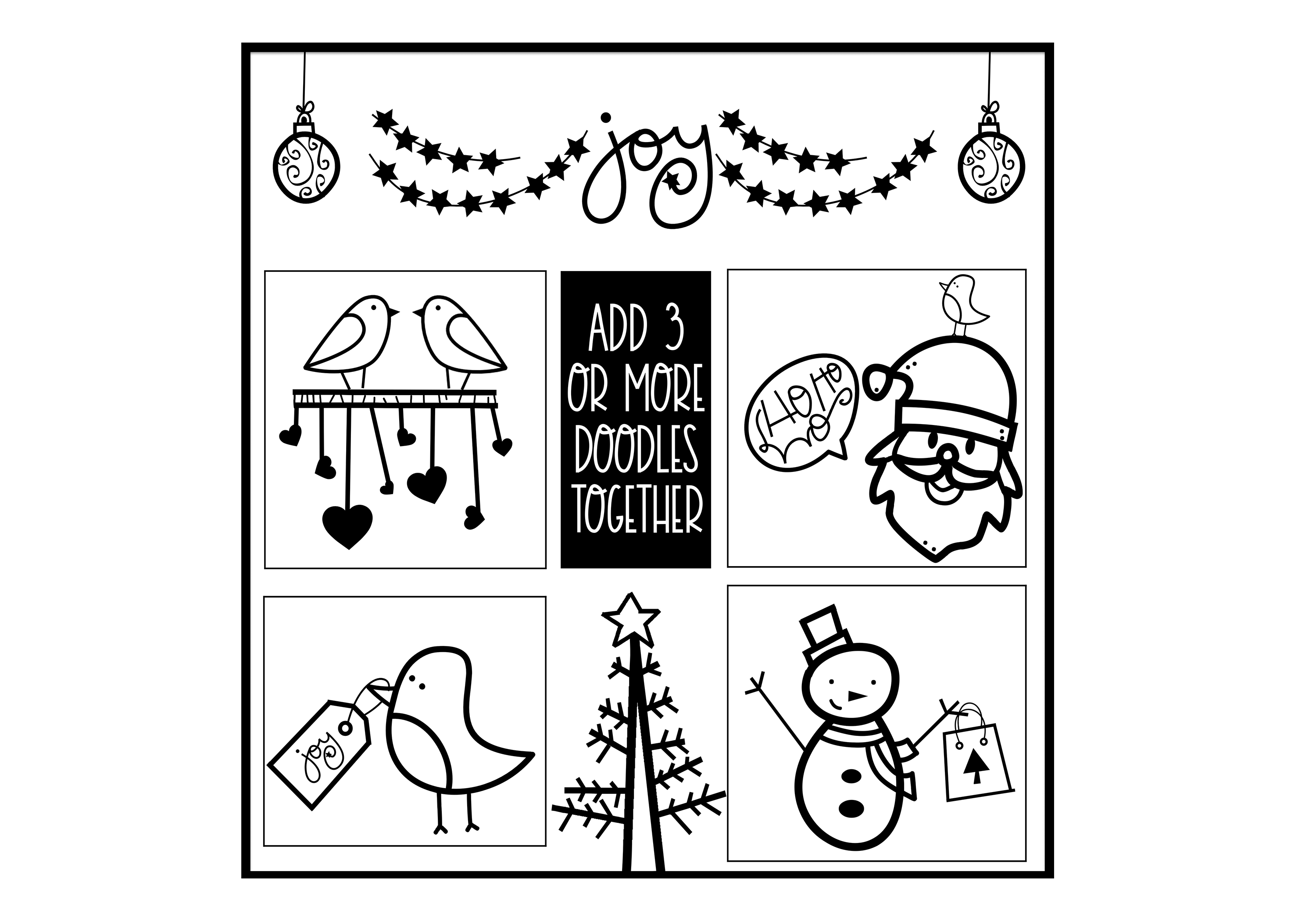 North Pole - A Christmas / Winter Doodles Font example image 5
