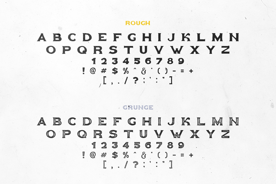 Goldfather Typeface example image 3