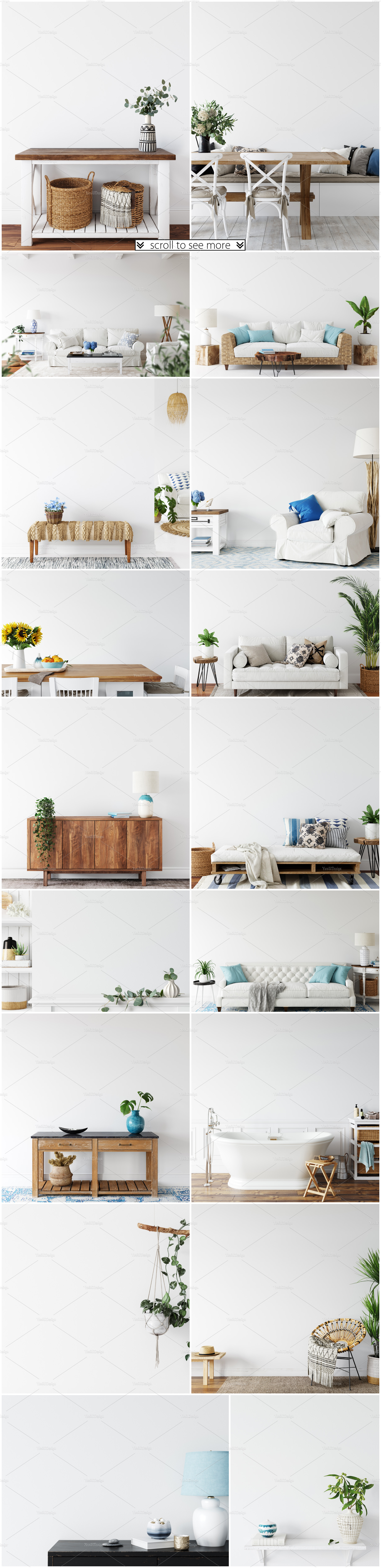 Frames & Walls Coastal Mockups Bundle example image 4