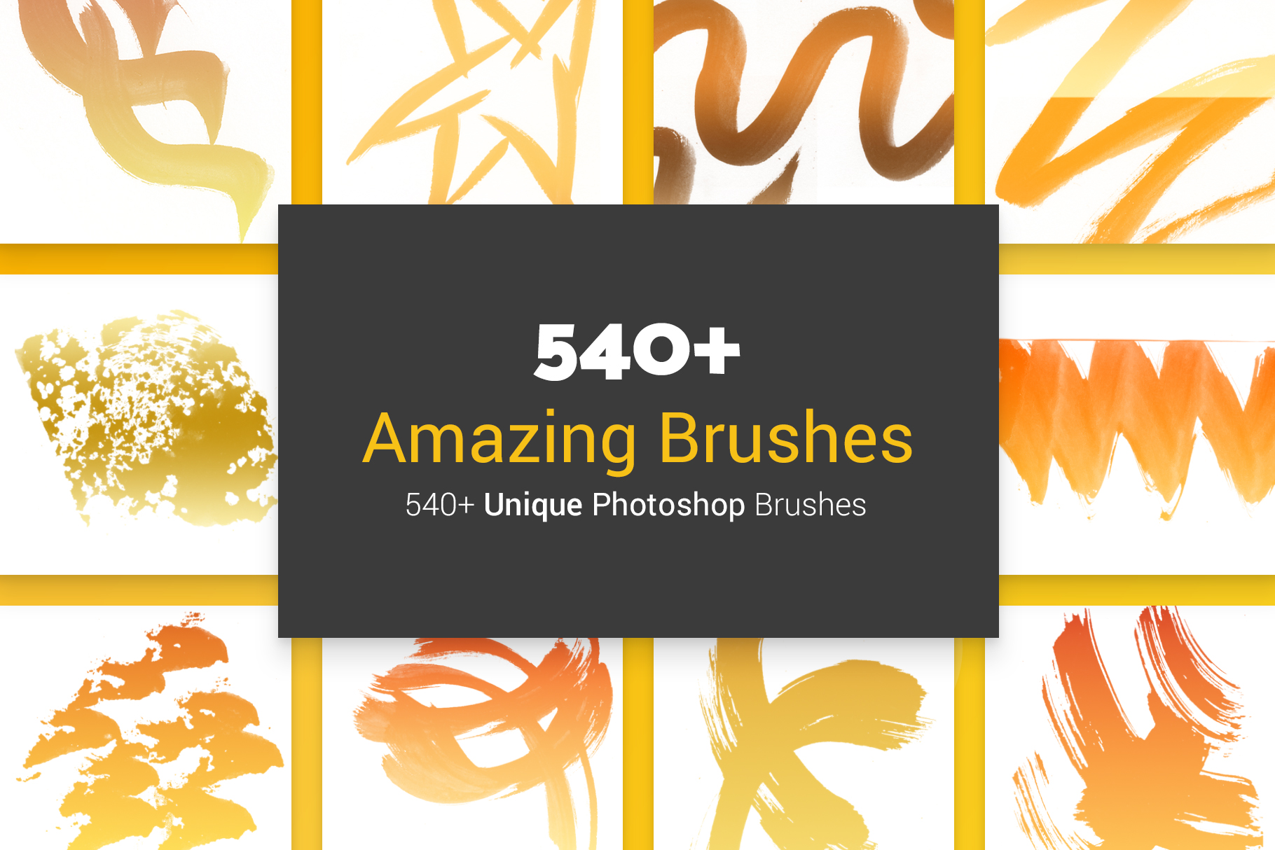 540 Amazing Brushes example image 1