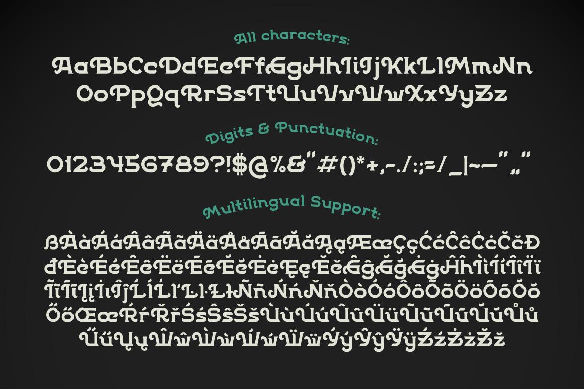 Patina font example image 3